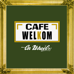 logo Café Welkom on wheels - your mobile pub